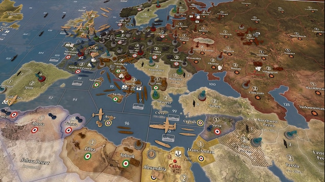Steam Workshop :: Axis and Allies 1940 Global Second Edition