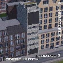 Modern Dutch midrise 2