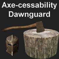 Axe-cessability Dawnguard画像