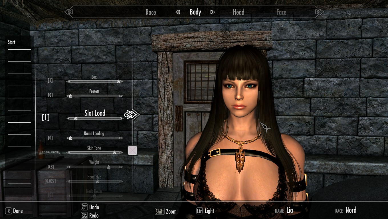 Skyrim sexy run walk hdt mode