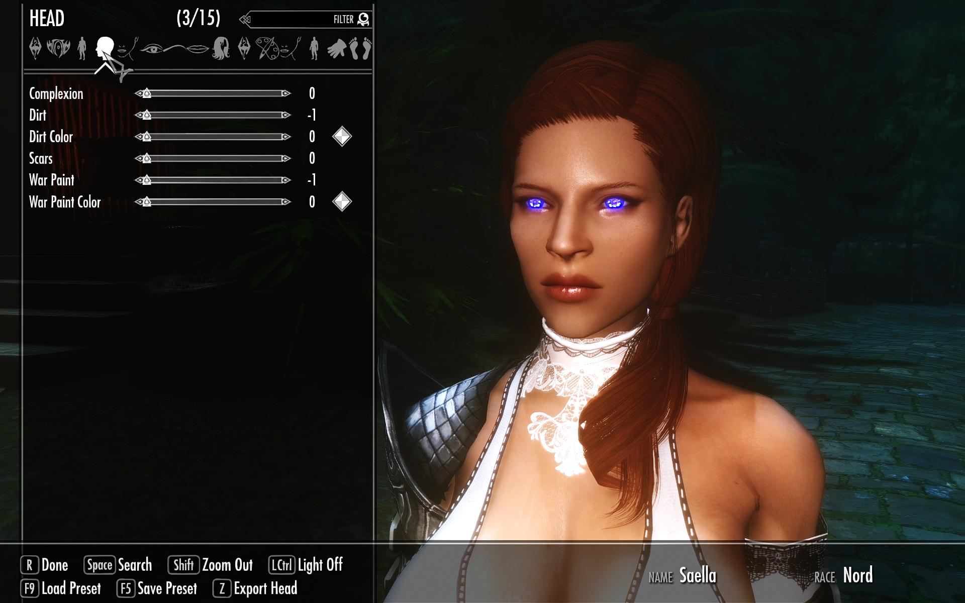 Sexy skyrim characters