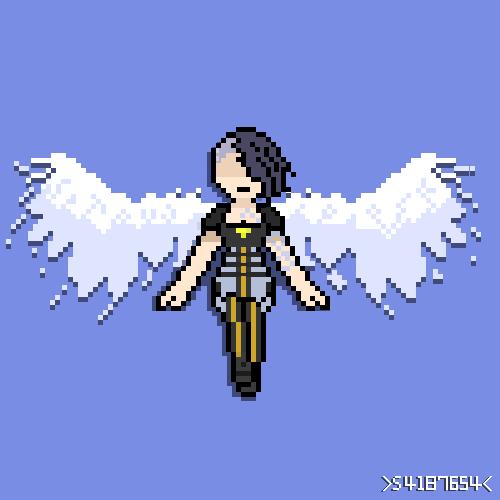 Steam Community Borderlands2 Angel Pixel Art