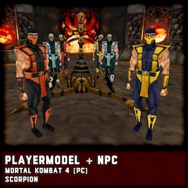 Steam Workshop :: SCORPION [Mortal Kombat 4 (PC)]
