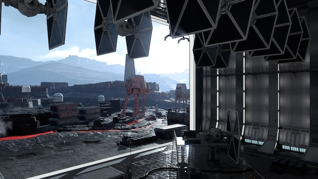Steam Workshop Starwars Hanger On Sullust 4k