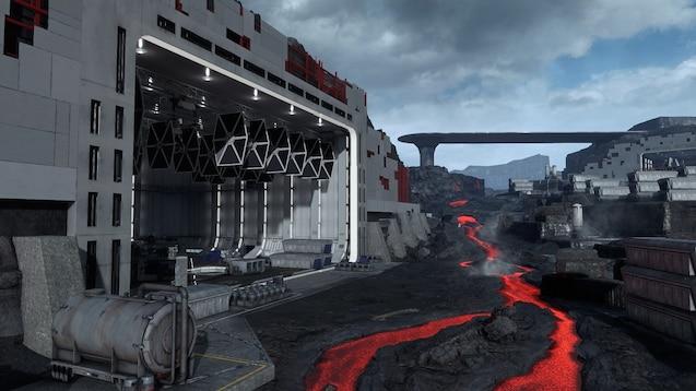 Steam Workshop :: StarWars Lave base on Sullust 4k