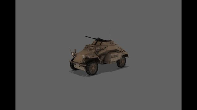 Steam Workshop :: [Simfphys] Sd  Kfz  222 & M16 MGMC