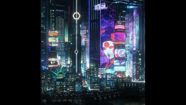 Steam Workshop Cyberpunk 2077 Night City 4k