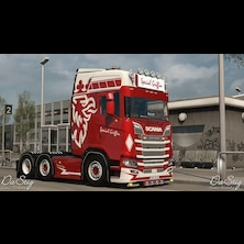 Special Griffin skin for Scania Next Gen (SCS)