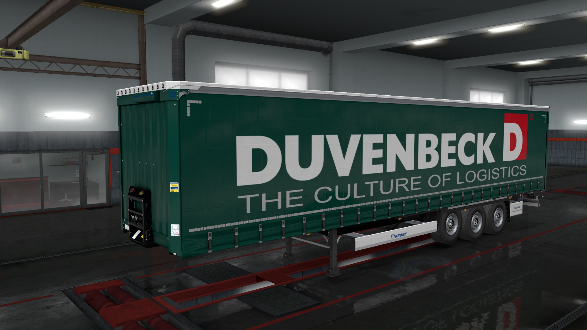 Duvenbeck Krone Trailer Skin Pack