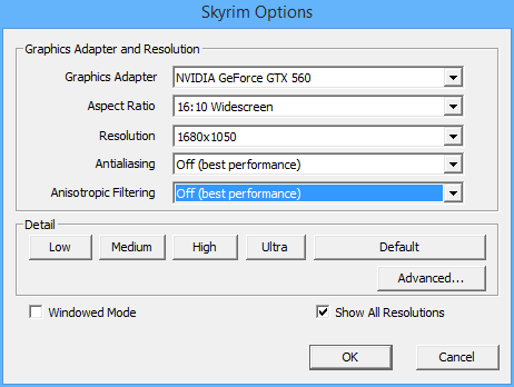 Steam Community :: Guide :: TES Skyrim: Increase your FPS ...