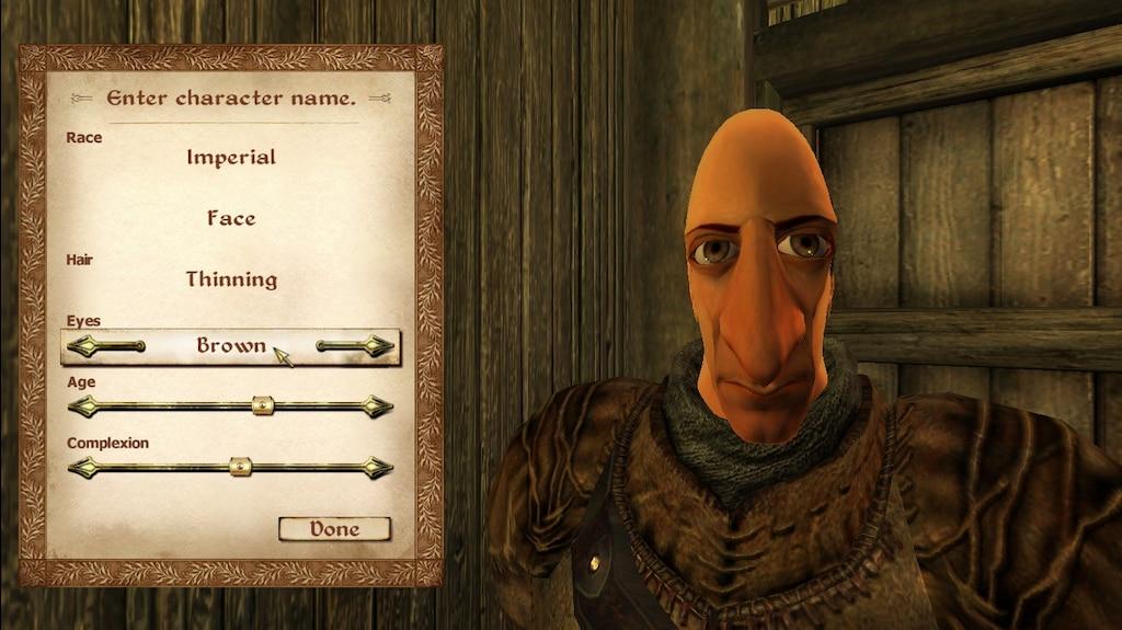 Steam Topluluğu :: :: Oblivion Character Creation in a Nutshell