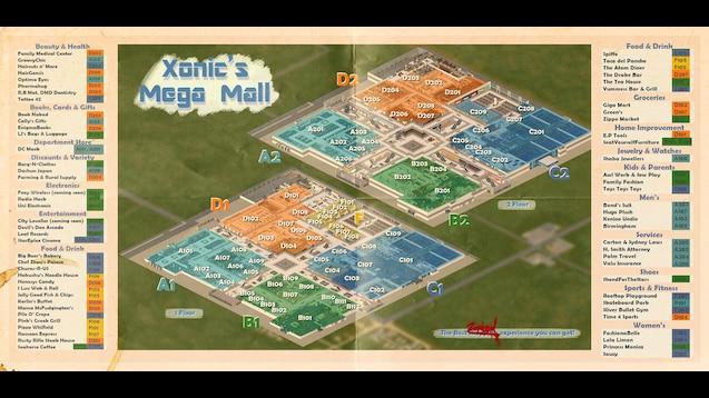 Steam Workshop Xonic S Mega Mall