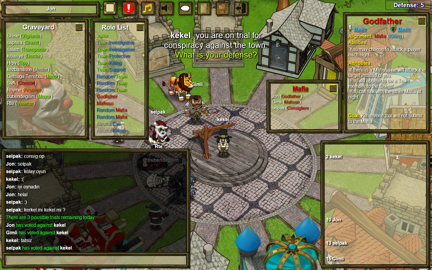 how to copy and paste will on town of salem