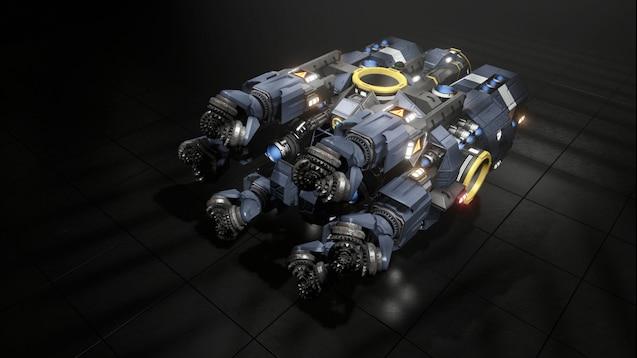 Steam Workshop Gullinbursti Asteroid Drift Mining Vessel