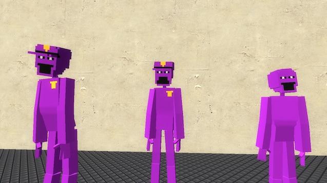 Steam Workshop :: (FNaF 2 & 3) Purple Guy Playermodel