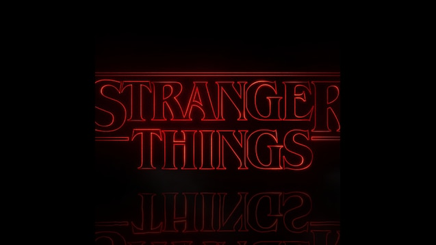 Steam Workshop Stranger Things Logo 1920x1080 W Theme Song