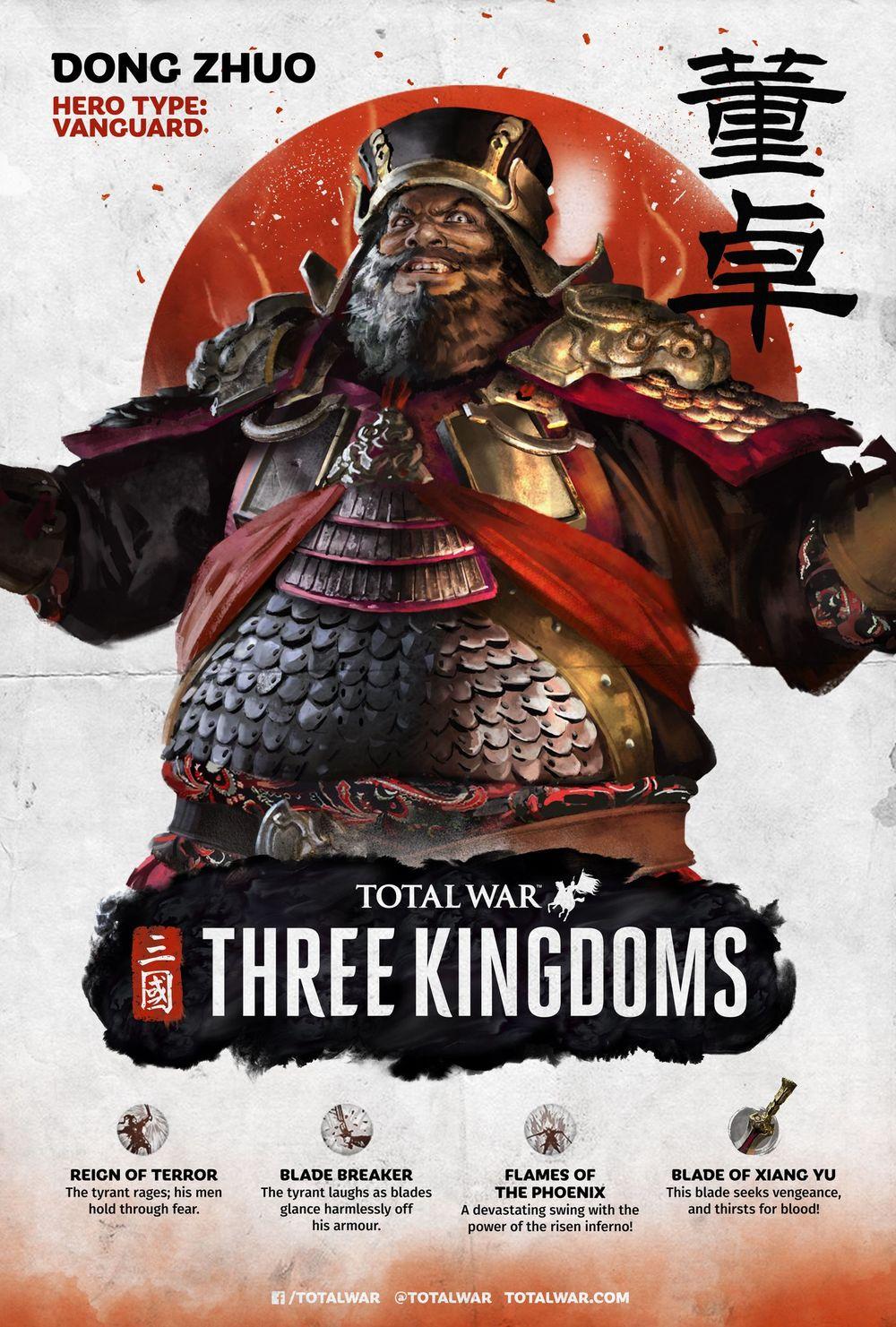 Как разблокировать персонажей Total War: THREE KINGDOMS