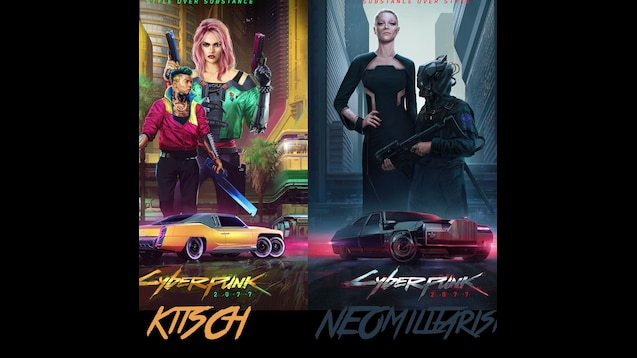 Steam Workshop :: CyberPunk 2077 Style Posters with Style Names