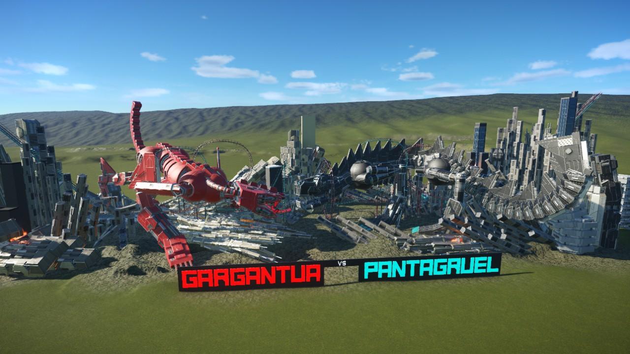 [XTRA] Gargantua vs. Pantagruel