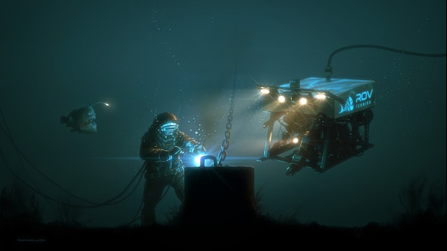 Underwater Welding Wallpaper Engine
