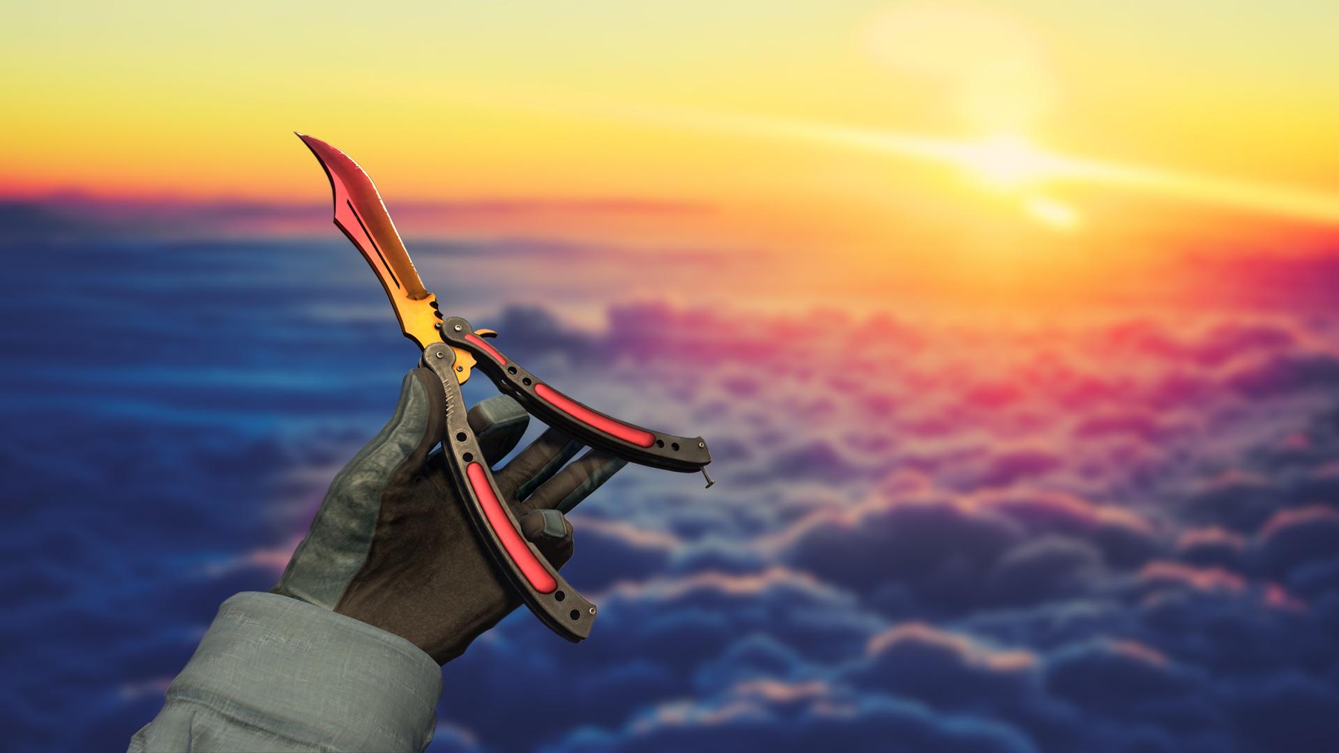 Steam Community Screenshot Butterfly Knife Fade
