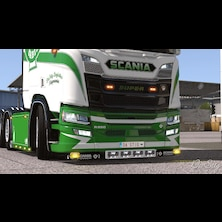 Scania Next Gen - Painted Engine Badges (by DaStig)