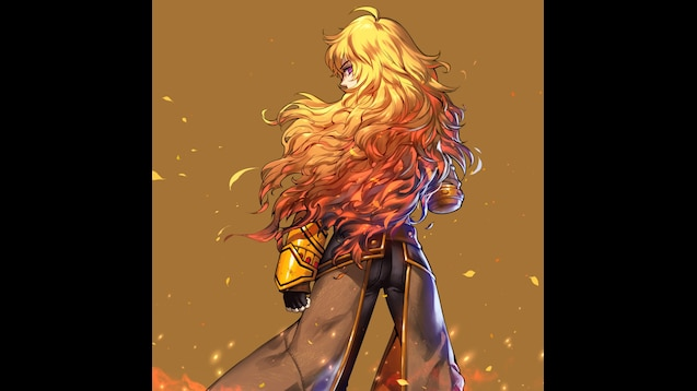 Steam Workshop Rwby Yang Xiao Long Animated Wallpaper