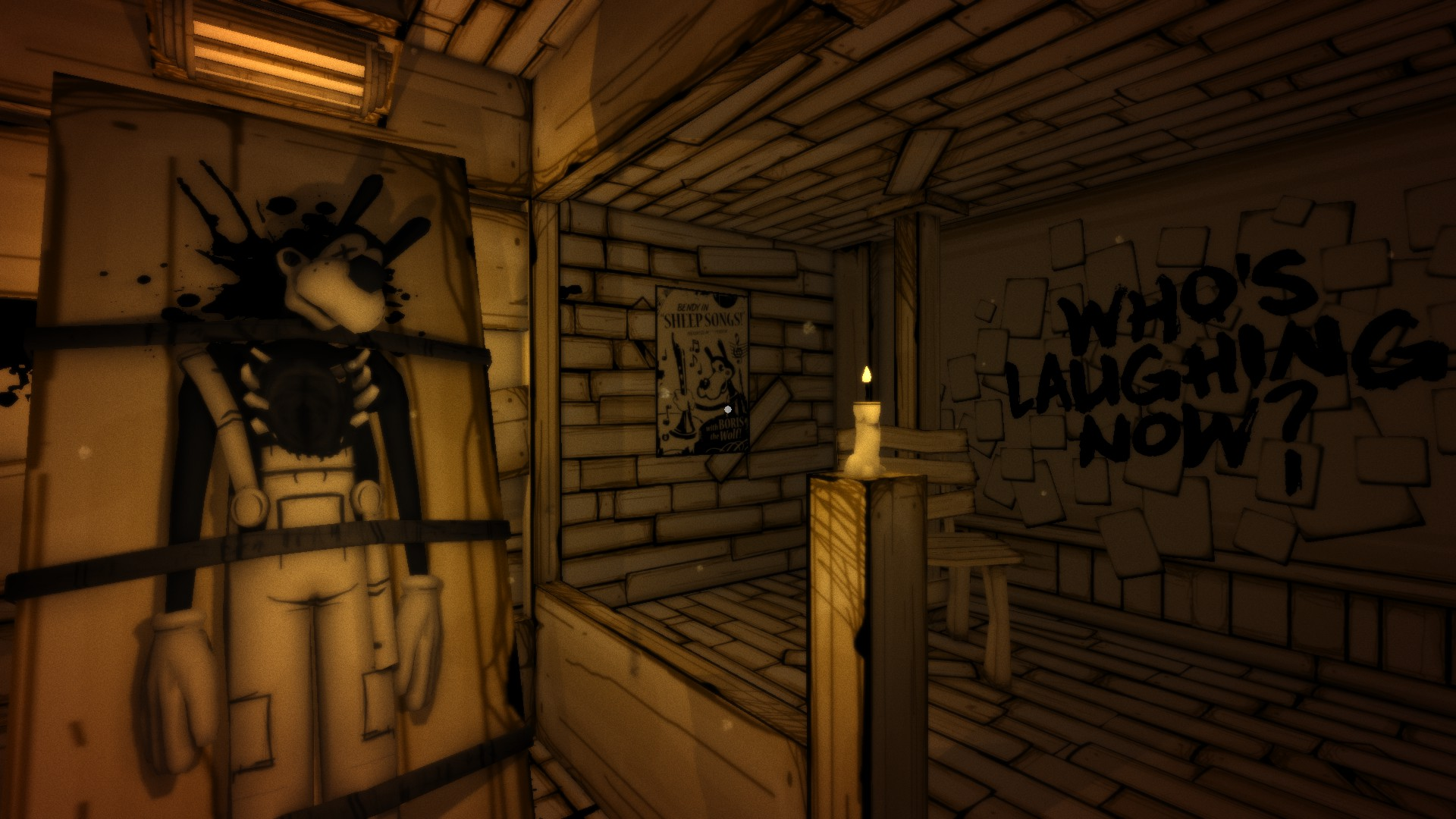 bendy and the ink machine chapter 1 walkthrough ps4