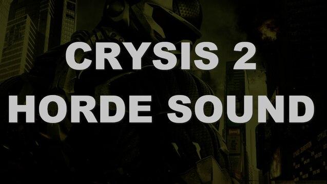 Звуки crysis 2 скачать.