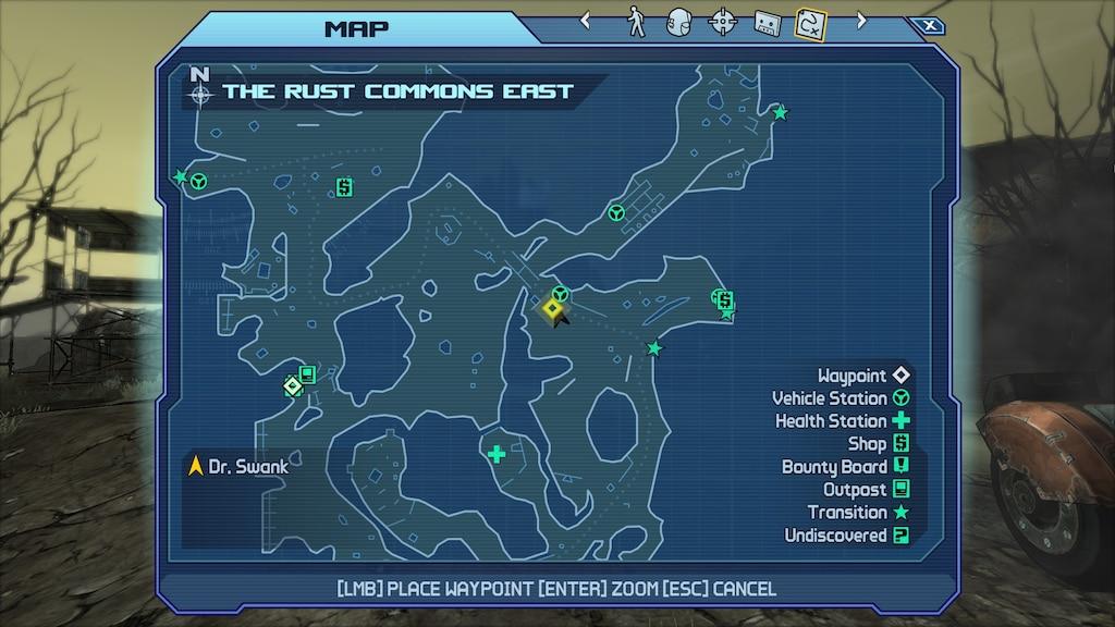 Steam Community :: Screenshot :: Borderlands - Location of