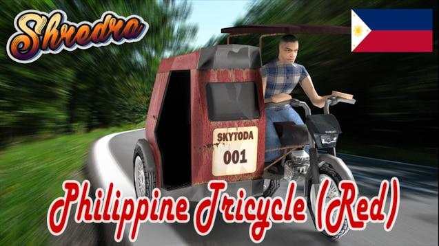 Steam Workshop :: Philippine Tricycle (Red)