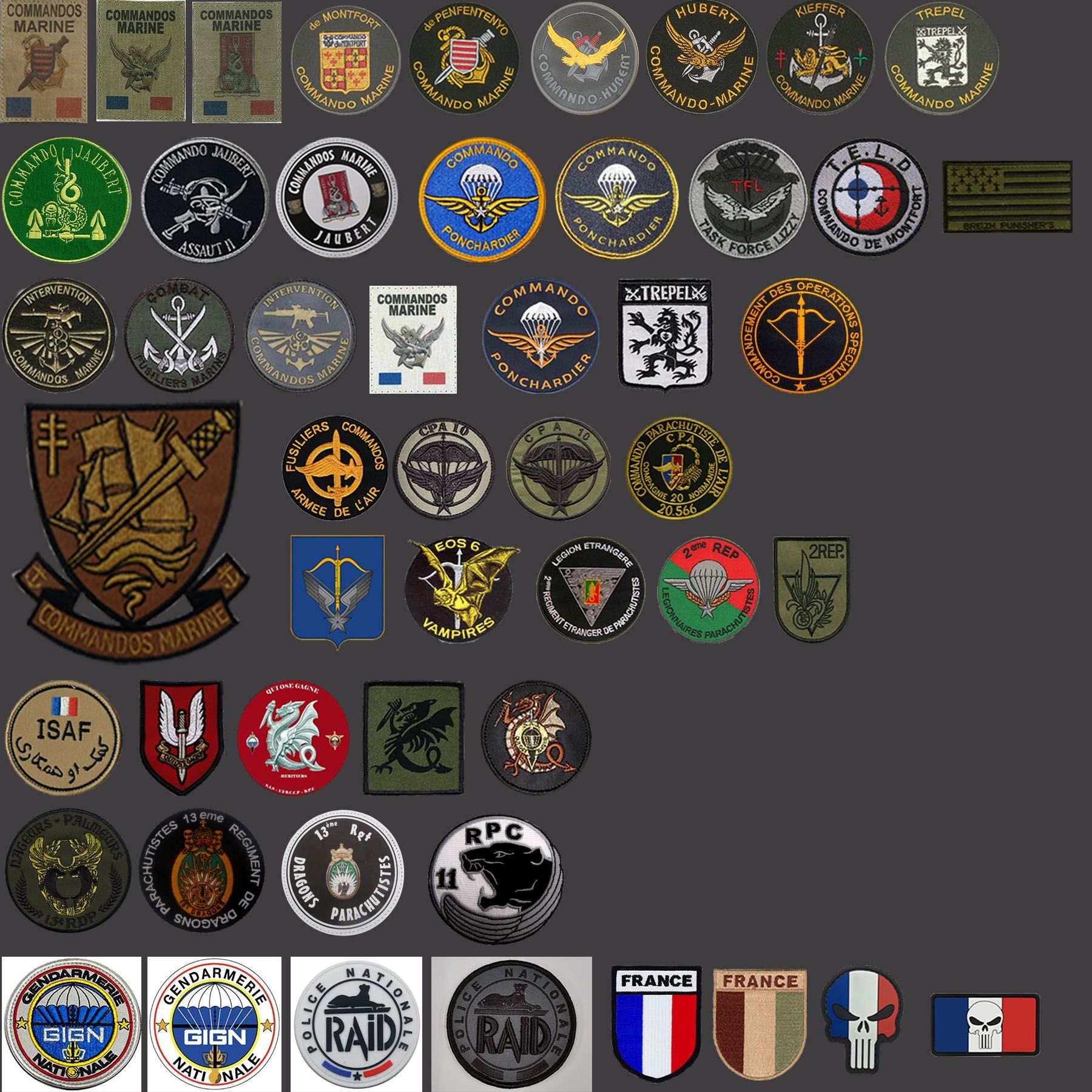 Steam Workshop Fc Insignes Forces Speciales France