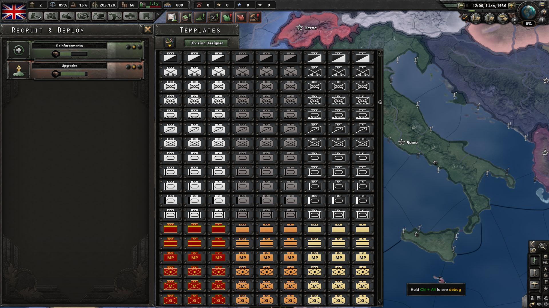 Hoi4 best german division world