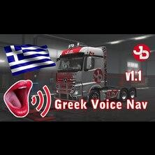 Greek Voice GPS Navigation for ETS 2 1.35