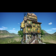 Decorative house set 05