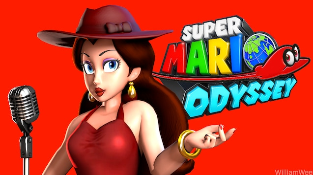 Steam Workshop Super Mario Odyssey Pauline Pack