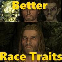 Better Race Traits Overhaul画像