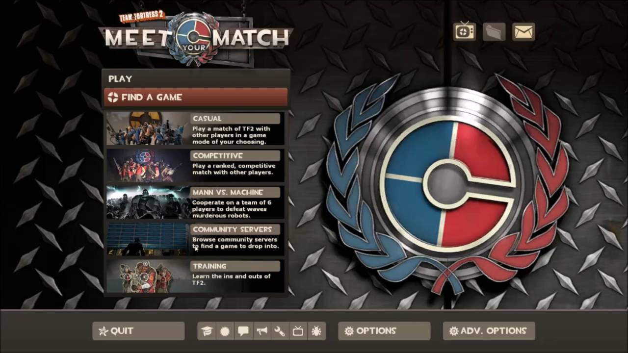 Steam Community :: Guide :: Team Fortress 2: Meet Your Match frissítés bemutatása