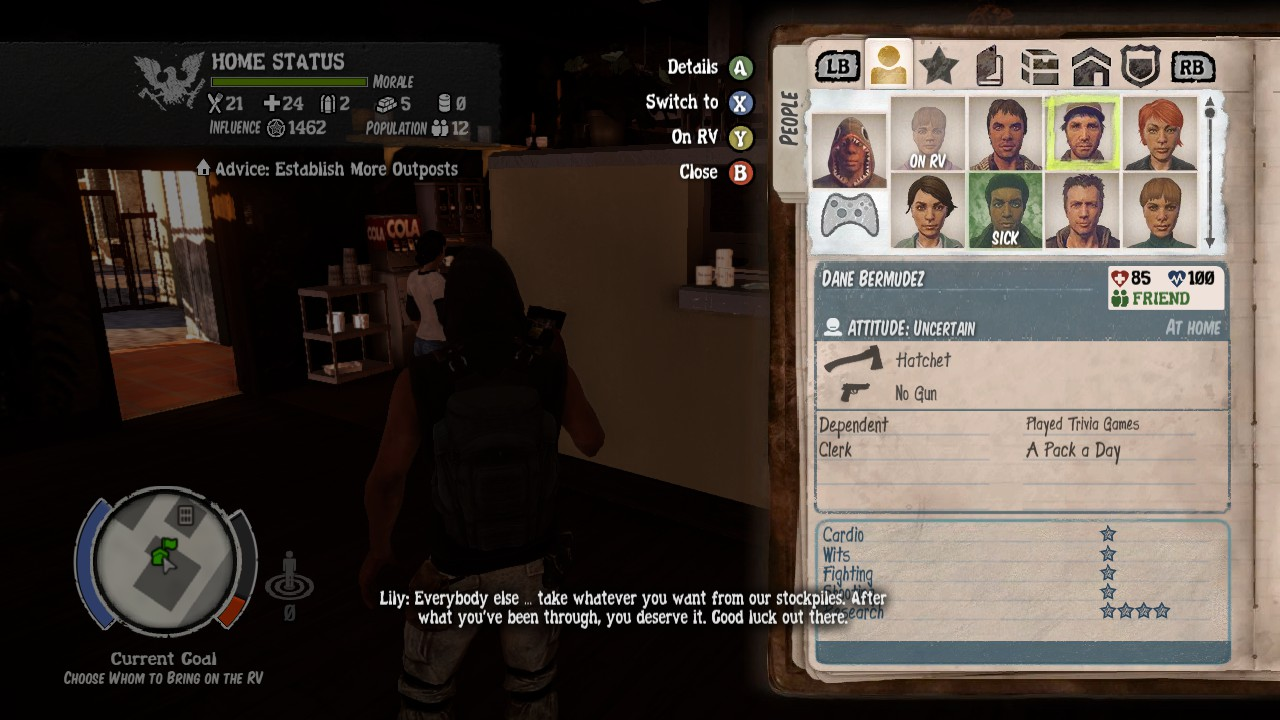 Steam Community :: Guide :: State of Decay: Breakdown Guide