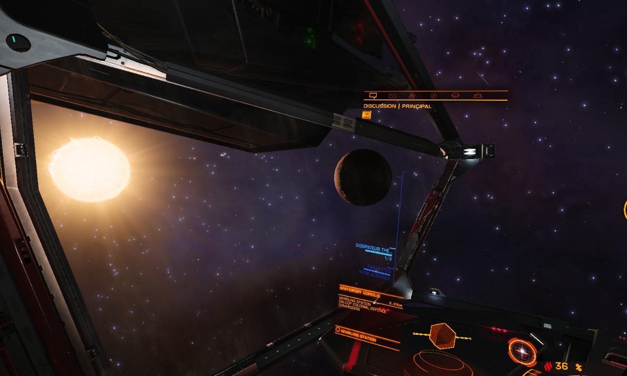 A la recherche des modules pour mon nouveau vaisseau