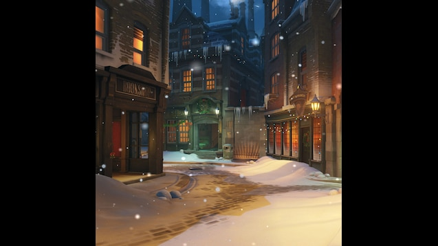 Steam Workshop An Overwatch King S Row Christmas