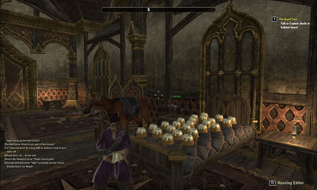 Steam Community :: Screenshot :: My sweetroll bed that cost me 1200
