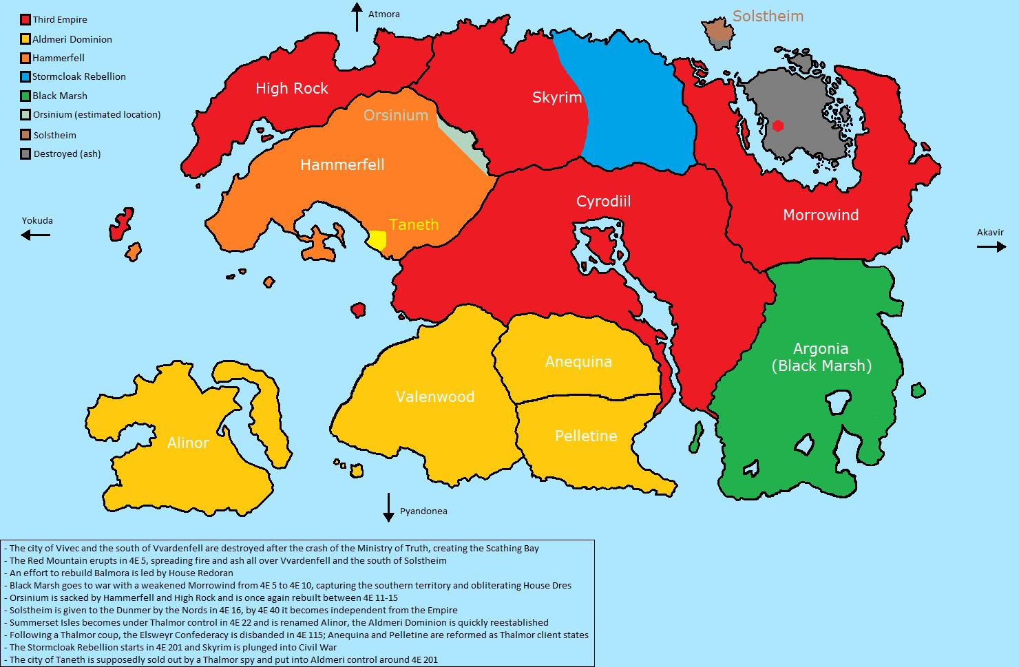 Steam Community :: :: Fourth Era Tamriel Map