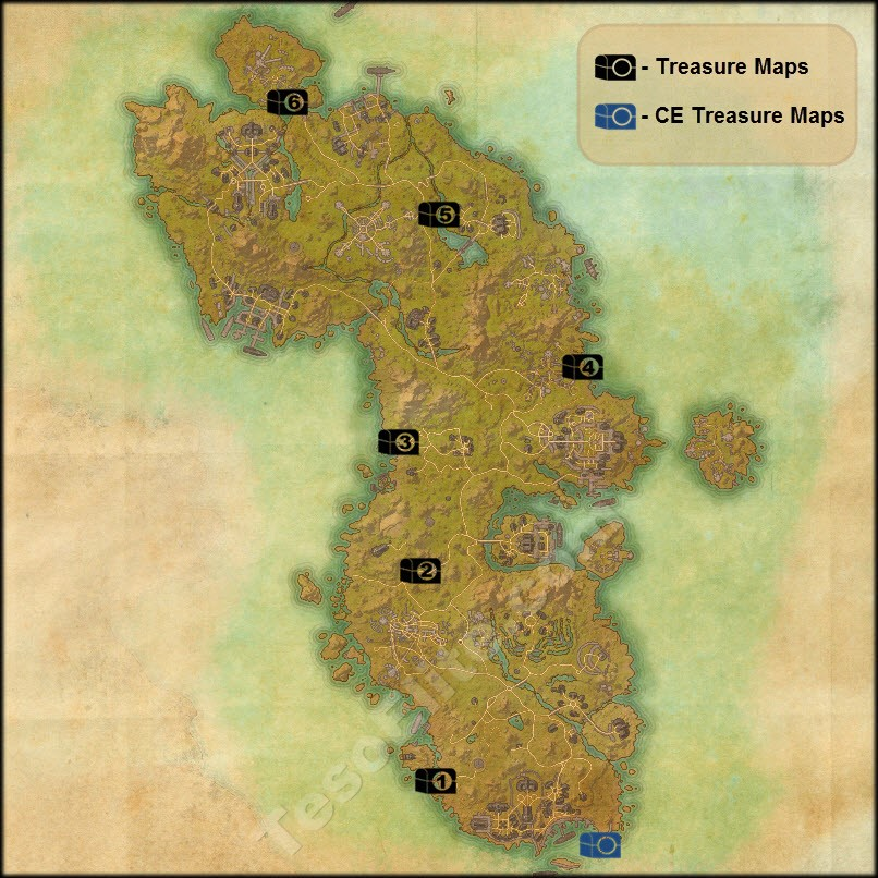 Auridon Treasure Map V Steam Community :: Guide :: Treasure Maps Guide