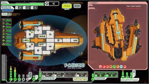 Two Engi ships collide : ftlgame