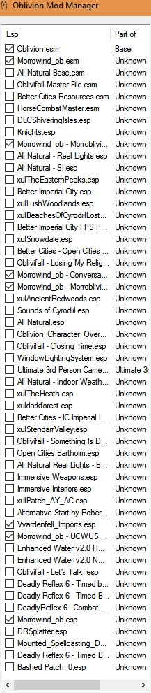 Missing textures & menu problems | TESRenewal: Morroblivion