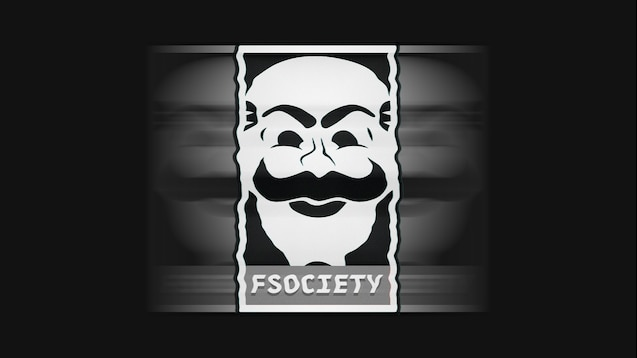 мастерская Steam Mr Robot Fsociety 4k1080p