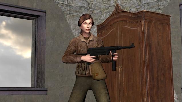 Steam Workshop Medal Of Honor Allied Assault Manon Batiste V 2 Pm Npc