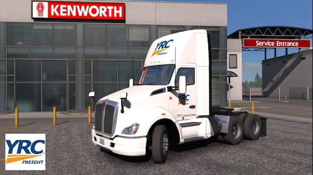 Steam Workshop :: YRC Freight SCS Kenworth T680 Skin