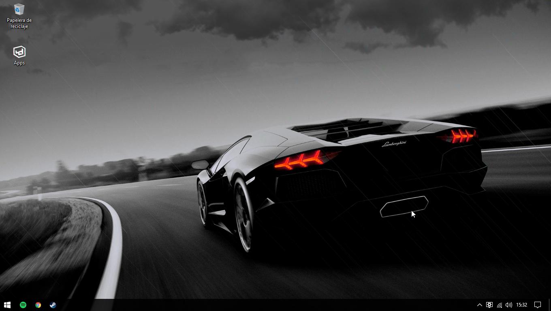Lamborghini Rain 4k Wallpaper Engine